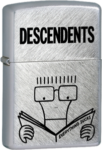 Descendents - Everything Sucks Chrome Lighter