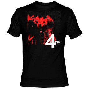 4 Skins - Band Pic T-Shirt