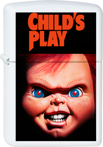 Child's Play - Chucky White Lighter