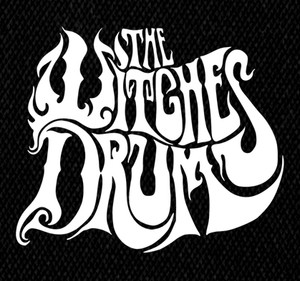 "The Witches Drum - Logo 4x6"" Printed Patch"