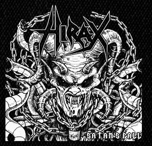 "Hirax - Satan's Fall 5x5"" Printed Patch"