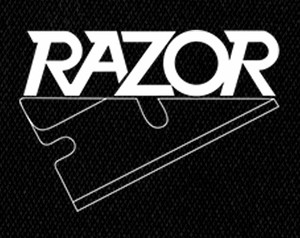 "Razor - Logo 5x4"" Printed Patch"