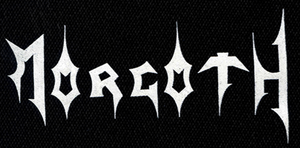 "Morgoth - Logo 7x3"" Printed Patch"