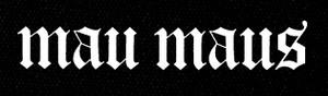 "Mau Maus - Logo 5x5"" Printed Patch"