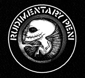 "Rudimentary Peni - Logo 5x5"" Printed Patch"