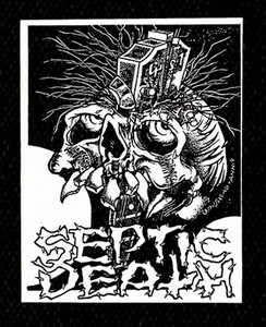 "Septic Death - Logo 5x6"" Printed Patch"