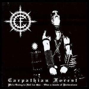 "Carpathian Forest - We're Going to Hell for This... 4x4"" Color Patch"