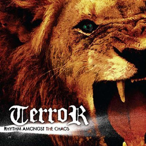 """Terror - Rythm Amongst the Chaos 4x4"""" Color Patch"""