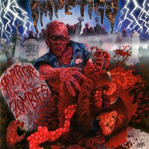 """Impetigo - Horror Of The Zombies 4x4"""" Color Patch"""