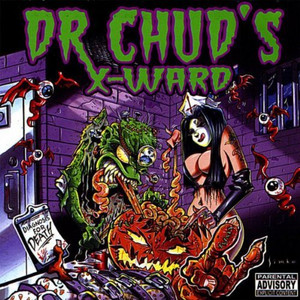 "Dr. Chud's X-Ward - Diagnosis for Death 4x4"" Color Patch"