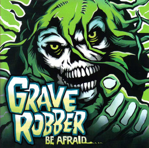"Grave Robber - Be Afraid... 4x4"" Color Patch"