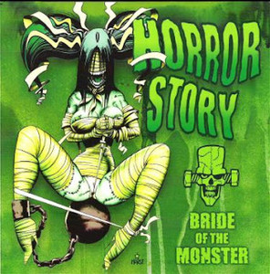 "Horror Story - Bride of the Monster 4x4"" Color Patch"