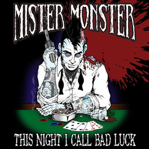 "Mister Monster - This Night I Call Bad Luck 4x4"" Color Patch"