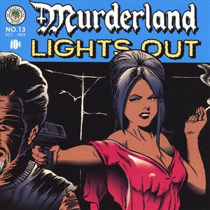 "Murderland - Lights Out 4x4"" Color Patch"