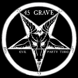 "45 Grave - Evil Party Time 4x4"" Color Patch"