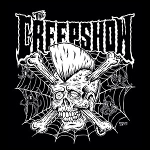 "Creepshow - Psycho Skull & Crossbones 4x4"" Color Patch"