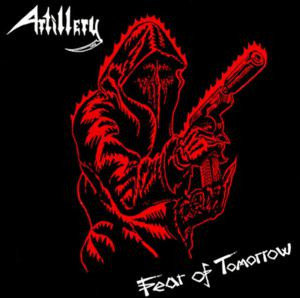 """Artillery - Fear of Tomorrow 4x4"""" Color Patch"""