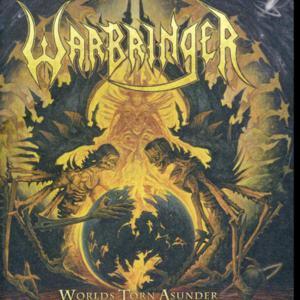 """Warbringer - Worlds Torn Asunder 4x4"""" Color Patch"""