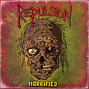 """Repulsion - Horrified 4x4"""" Color Patch"""