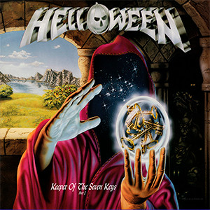 "Helloween - Keeper of the Seven Keys 4x4"" Color Patch"