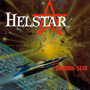 "Helstar - Burning Star 4x4"" Color Patch"