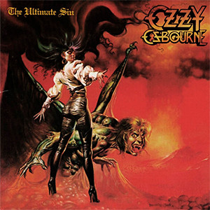"Ozzy Osbourne - The Ultimate Sin 4x4"" Color Patch"