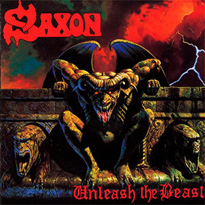 "Saxon - Unleash the Beast 4x4"" Color Patch"
