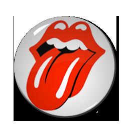 """Rolling Stones - Logo 1"""" Pin"""