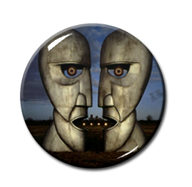 "Pink Floyd - The Division Bell 1"" Pin"