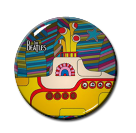 "The Beatles - Yellow Submarine 1"" Pin"