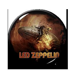 """Led Zeppelin - Blimp 1"""" Pin"""