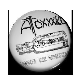 """Atoxxxico - Punks de Mierda 1"""" Pin"""