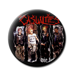 "Casualties - Die Hard 1"" Pin"