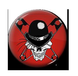 "Lower Class Brats - Logo 1"" Pin"