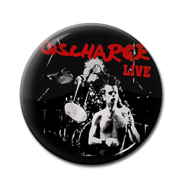 """Discharge - Live 1"""" Pin"""