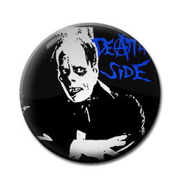 "Death Side 1"" Pin"