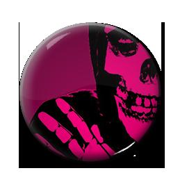 "Misfits - Crimson Ghost 1"" Pin"
