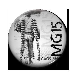 "MG15 - Caos Final 1"" Pin"