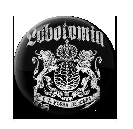 """Lobotomia - E. A. Forma de Cura 1"""" Pin"""