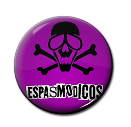 "Espasmodicos - Logo 1"" Pin"