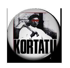 "Kortatu - LP Cover 1"" Pin"