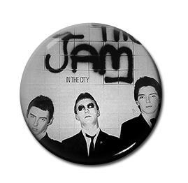 """The Jam - In the City 1"""" Pin"""