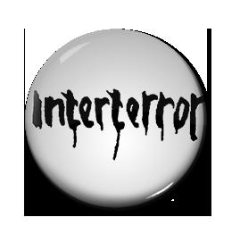 """Interterror - Logo 1"""" Pin"""