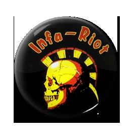 """Infa-Riot - Skull 1"""" Pin"""
