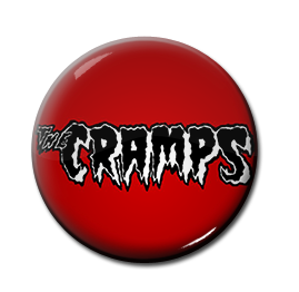 "The Cramps - Logo 1"" Pin"