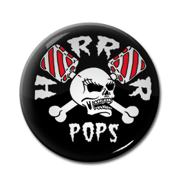 "Horrorpops - Logo 1"" Pin"