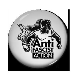"Anti Fascist Action 1"" Pin"