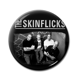 "The Skinflicks - Steel Toe Anthems 1"" Pin"