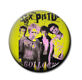 "Sex Pistols - Bollocks 1"" Pin"