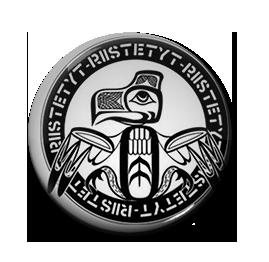 """Riistetyt - Logo 1"""" Pin"""